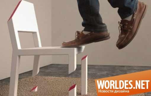 дизайн, дизайн мебели, дизайн стула, дизайн стула иллюзия, стул, дизайн стульчика, стульчик иллюзия, иллюзия