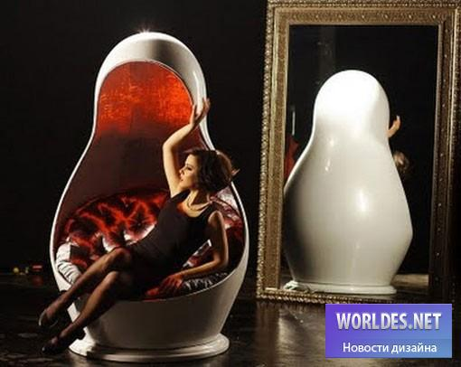 дизайн, дизайн мебели, дизайн кресла, дизайнерское кресло, светящее кресло, кресло
