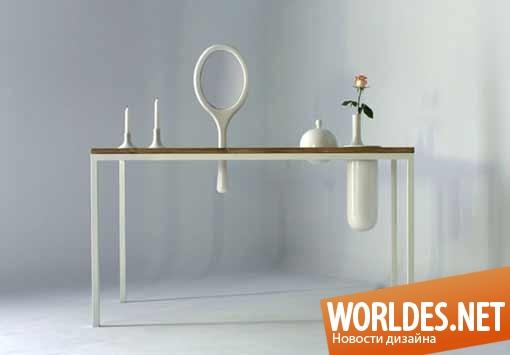 дизайн, дизайн мебели, дизайн стола, дизайн столика, дизайн туалетного столика, туалетный столик