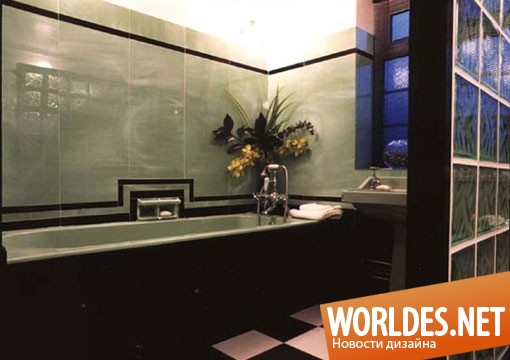 дизайн, дизайн ванной, дизайн ванной комнаты, дизайн эксклюзивной ванны, ванная комната, ванная арт деко, ванная комната арт деко, ванная комната артдеко